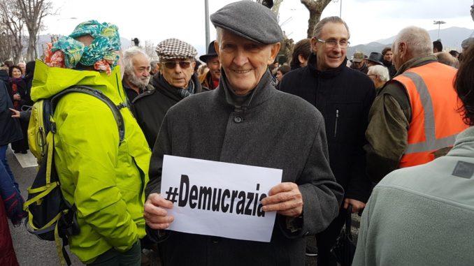 Edmond Simeoni, militant de la démocratie