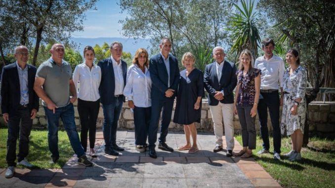 Gilles Simeoni et son nouveau conseil exécutif de Corse
